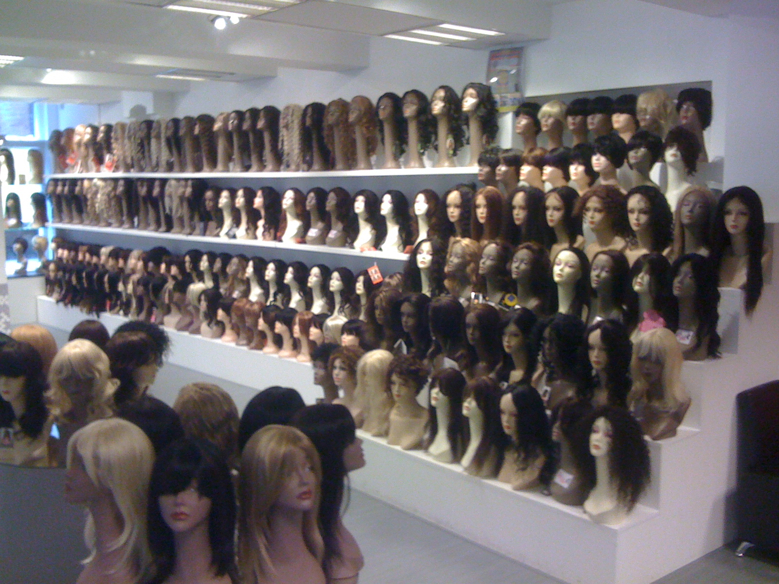 Image result for wig store